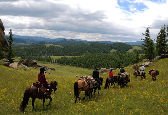 Small Group Horseback Riding in Mongolia, Stone Horse Expeditions & Travel