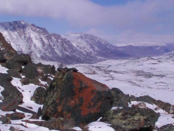 Mountain landscape, Western Mongolia