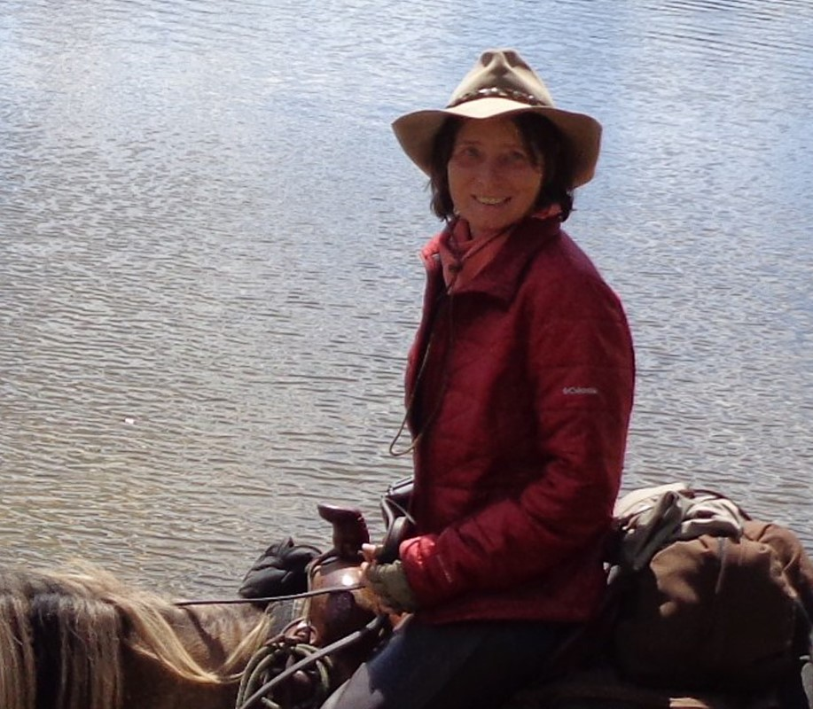 Sabine Schmidt is a co-owner at Stone Horse Expeditions & Travel. She rides and guides with her husband Keith Swenson, who founded the outfit that specializes in high quality, low impact horseback eco-tours in Mongolia.