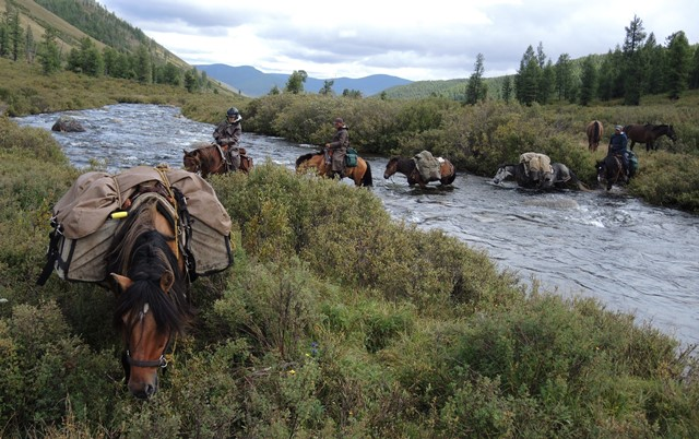 Ancient horse trails in the khentii mountains of mongolia for Travel expedition gear