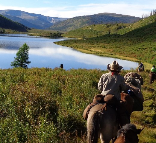 Horse Riding in the Khentii Mountains of Mongolia - Stone Horse Expeditions & Travel