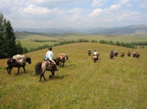 Out of touch in Mongolia, Horseback riding in Mongolia, Gorkhi-Terelj National Park with Stone Horse Expeditions & Travel