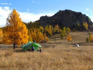 Hores trek camping in Mongolia, Gorkhi Terelj National Park Horse Riding Expedition Mongolia