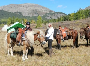 Riding Horse Trails in Mongolia, Khentii Mountain Expedition, Stone Horse
