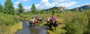 Horse Trekking Mongolia, Riding Vacation Mongolia, Horse Riding Mongolia