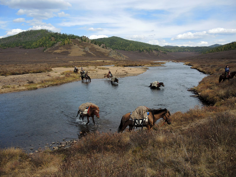 Horse Riding Holiday, Horse Trekking Mongolia, Horse Trails Mongolia