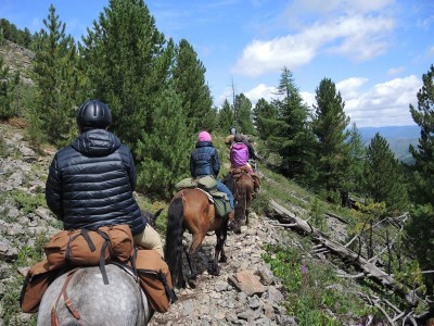 Horse Trails Mongolia, horseback trekking the Khentii Mountains of Mongolia
