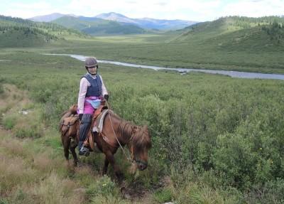 Horse Trekking Mongolia, Khentii Mountains