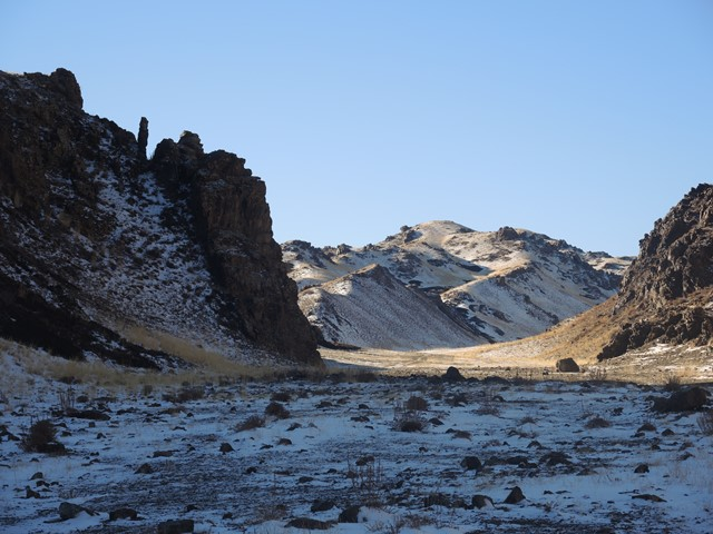 Gobi Desert, winter travel destination, Mongolia