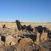 ancient burial site, Gobi desert, Mongolia