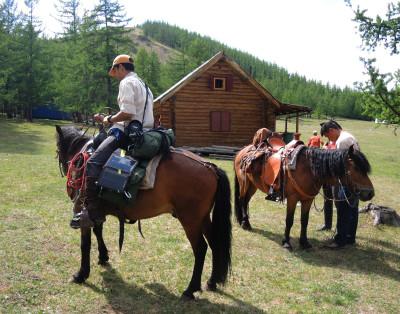 Horse trekking Mongolia, horseback riding expeditions
