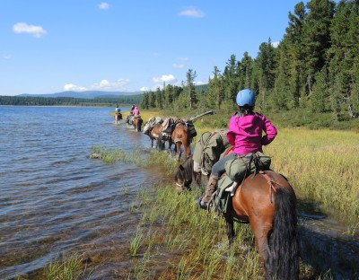 Horse Riding Expeditions in Mongolia, Hagiin Har Nuur, Khan Khentii