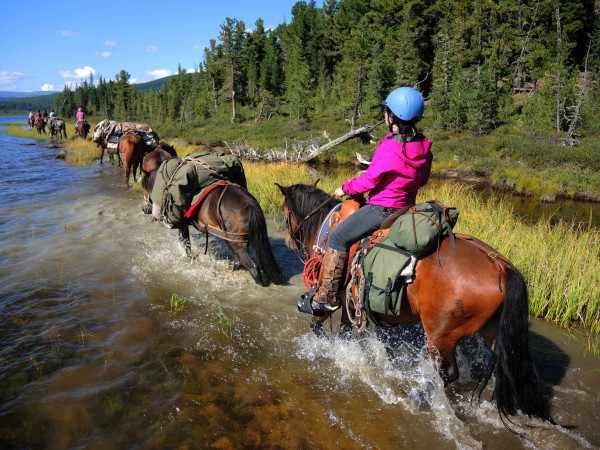 horseback riding Mongolia