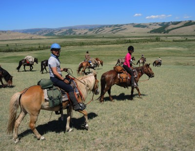 Horse Riding Expeditions in Mongolia, Gorkhi Terelj National Park