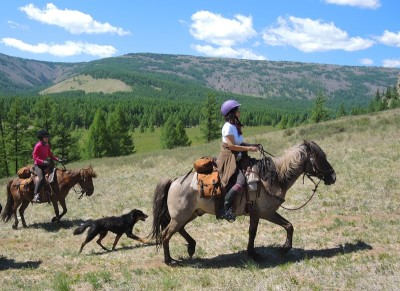 Adventure Horseback Riding in Mongolia