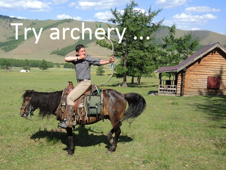 archery, Mongolian bow and arrow, horse riding Mongolia_1