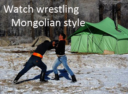 wrestling, Mongolian wranglers, horseback riding vacation_1