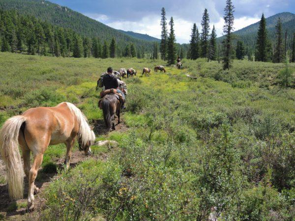 horseback riding Mongolia, wilderness trek