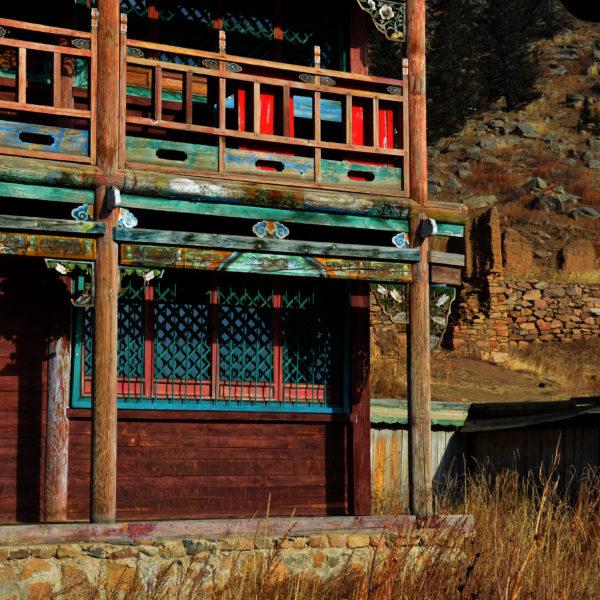 Remains of Manzushir Monastery, Mongolia