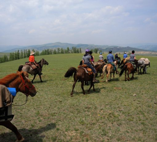 Gorkhi Terelj National Park Horse Riding, Mongolia