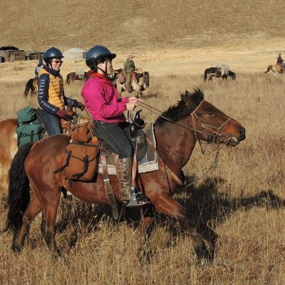 riding holiday in Mongolia