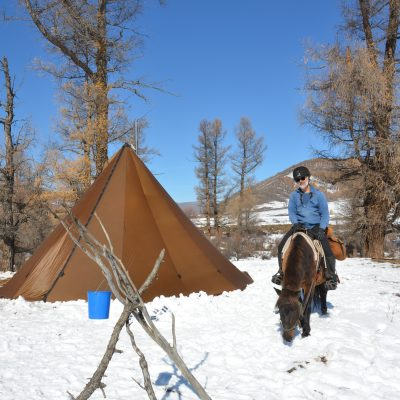 autumn horseriding holidays in Mongolia