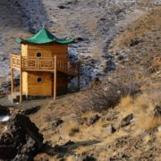 Meditation Retreat, Gobi Desert, Mongolia, Gobi Gurvan Saikhan National Park