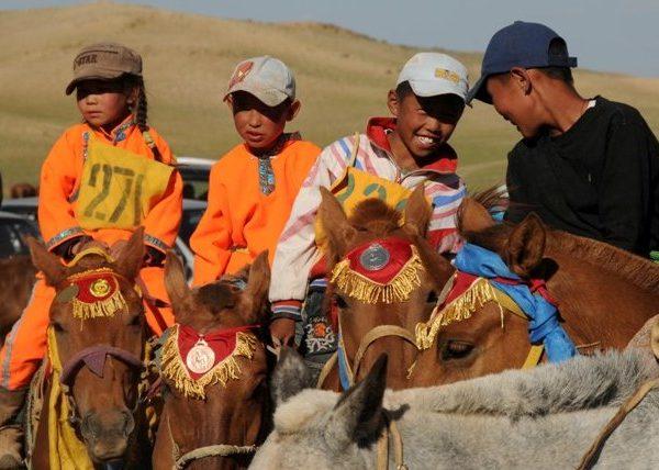 Naadam horse race, Gobi desert, Mongolia