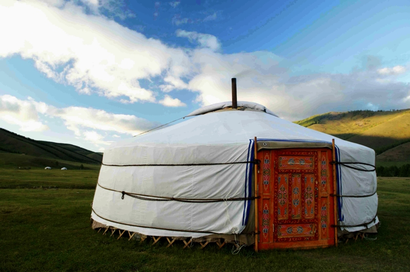 Ger stay in Mongolia, Mongolia...