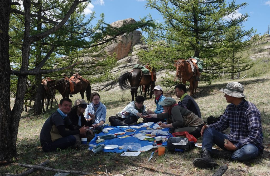 Frequently Asked Questions FAQ food and drink with Stone Horse Expeditions Mongolia