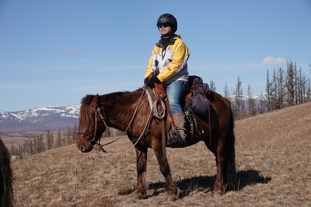 In the Saddle in Mongolia, with Stone Horse Expeditons