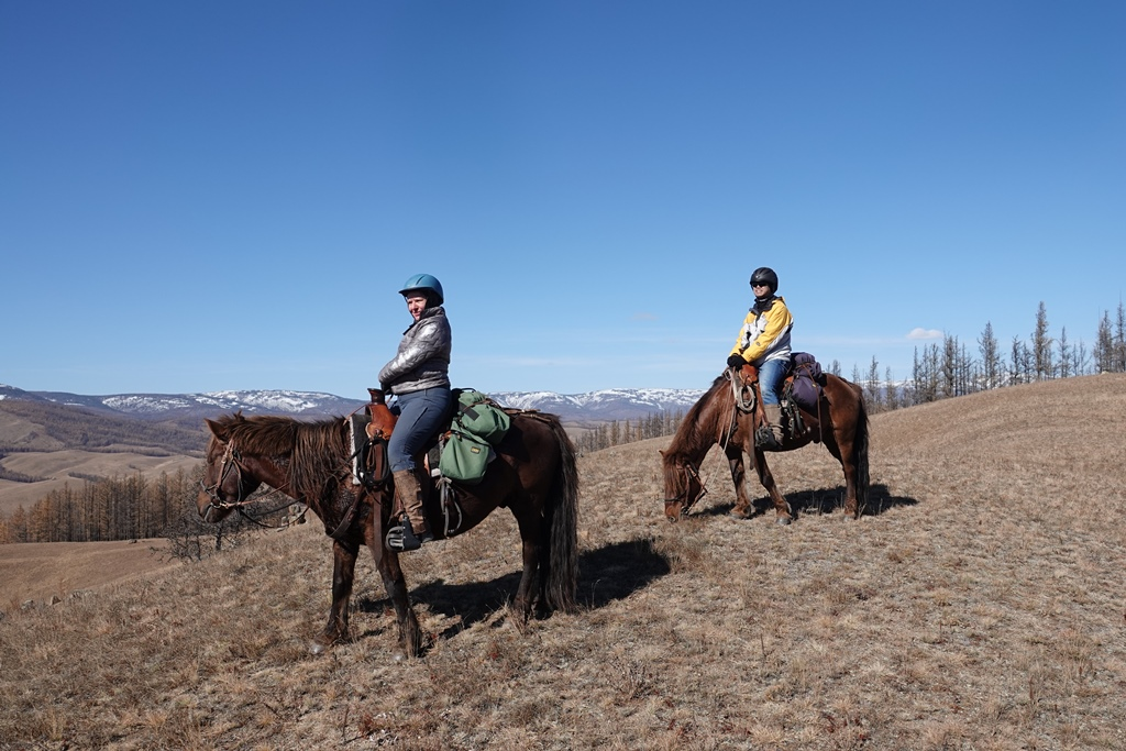 Trails Mongolia with Stone Horse Saddles