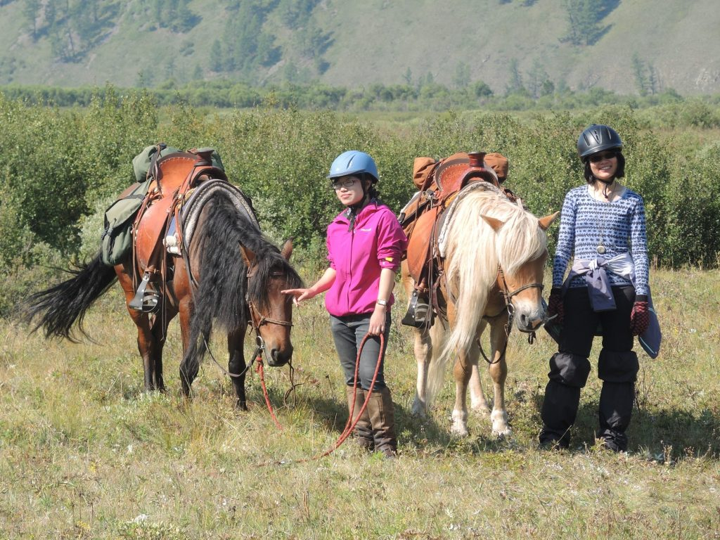 Saddles for Mongolian Trail Horses, Stone Horse Expeditions