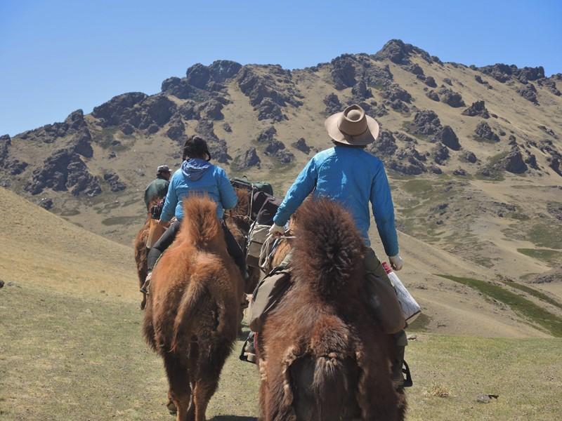 Camel Trekking in Mongolia's Gobi