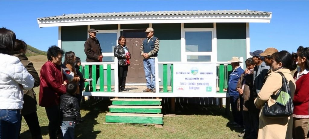 Mongolia Horse Riding Tours Support Conservation and Community, opening of community center,