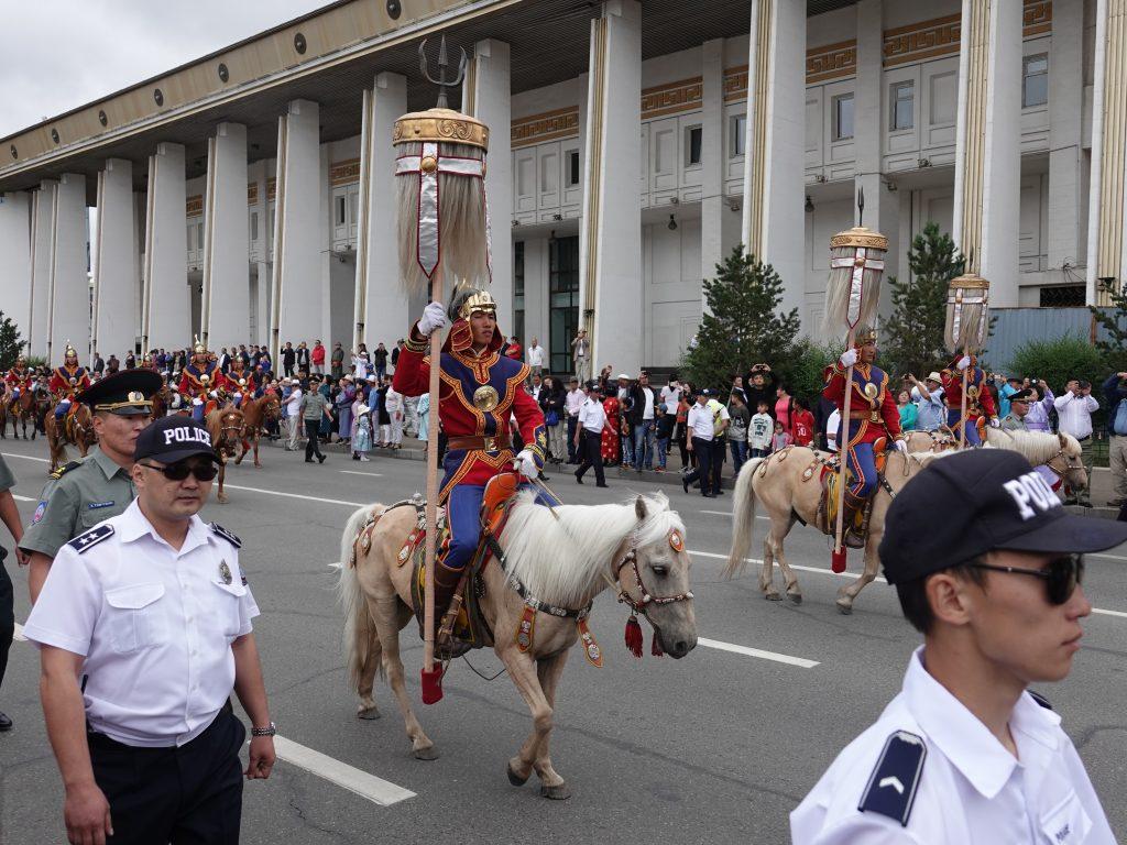 The Mongolian Naadam Festival, Nine Banners