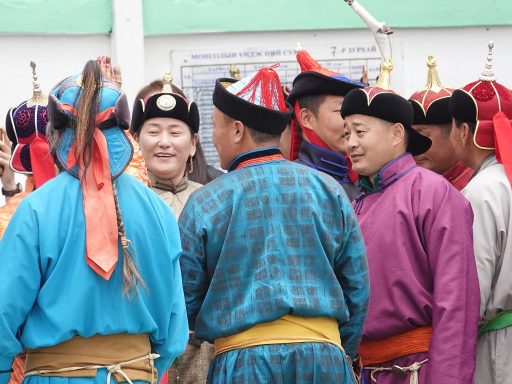 The Mongolian Naadam Festival, Archery Competition, Three Many Sports