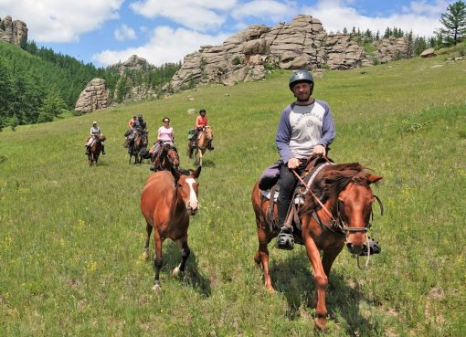 Gorkhi Terelj National Park Horse Riding, Stone Horse Expeditions