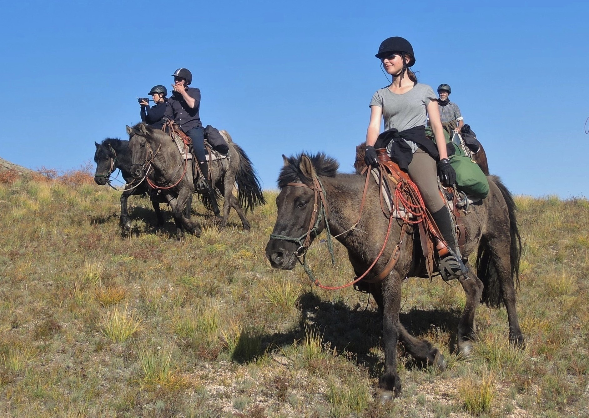 Horse Riding Mongolia – One Day Trail Rides, Stone Horse Expeditions