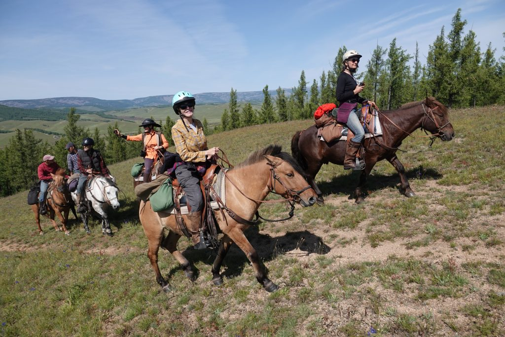 Horse Riding in Mongolia with Covid-19 Precautions, Stone Horse Mongolia