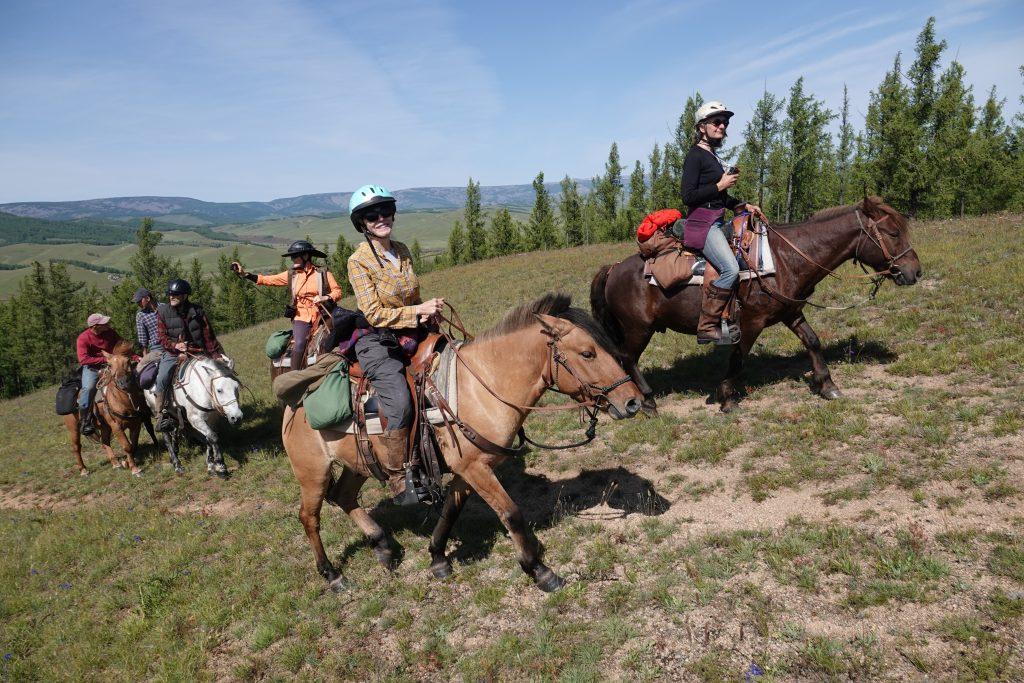 Horse Riding in Mongolia with Covid-19 Precautions, Stone Horse Mongolia