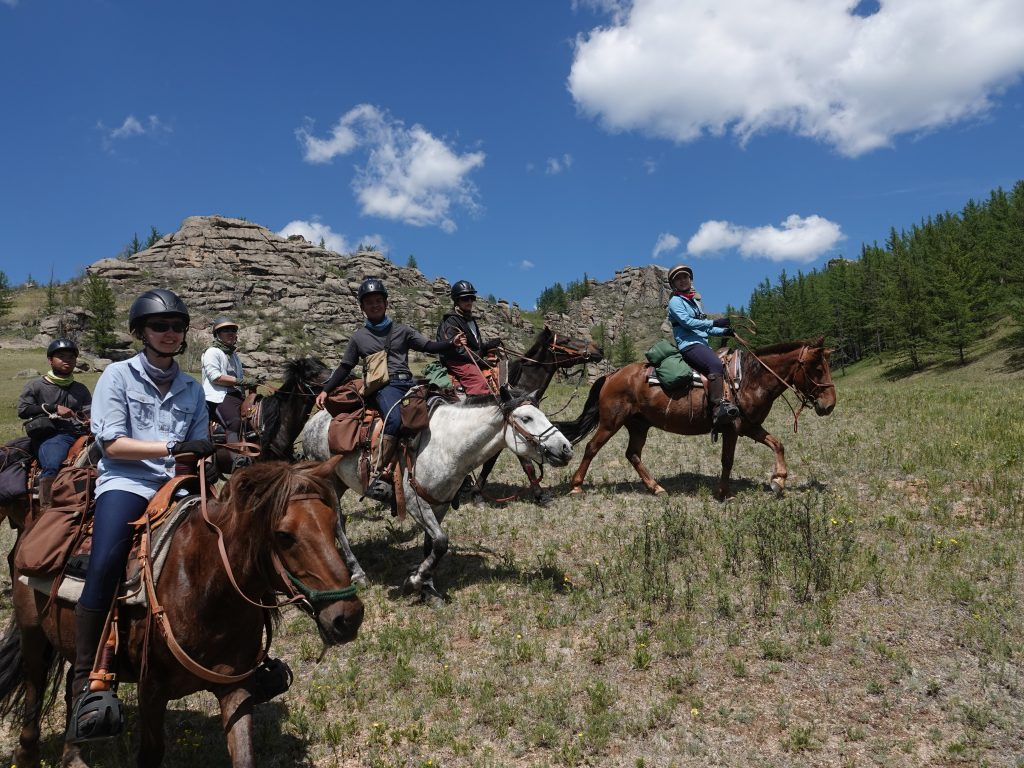 Horse Riding in Mongolia with Covid-19 Precautions, Stone Horse Expeditions